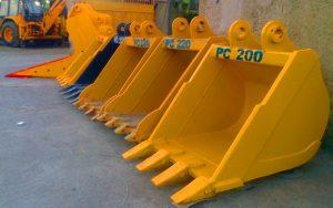 فروش و ساخت باکت بیل مکانیکی R210 هیوندای 7-210